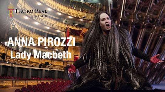 "Lady Macbeth / ""Macbeth"" Teatro Real, Madrid 11/14/17 Luglio 2017"