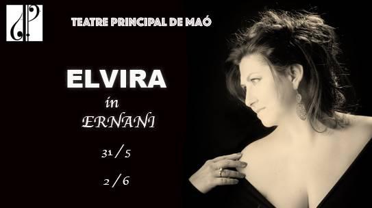 Elvira from Verdi's 'Ernani' at the Fundació Teatre Principal de Maó