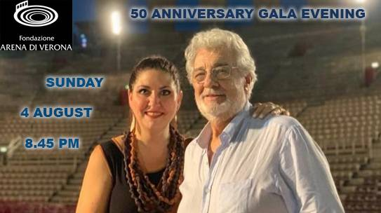 Plácido Domingo: 50th Anniversary Gala Evening