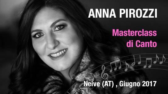 Anna Pirozzi / Masterclass di Canto/ 22-27 GIUGNO , NEIVE (AT)