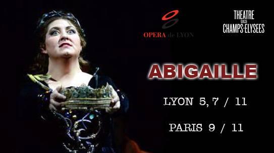 ANNA PIROZZI / G.VERDI / ABIGAILLE / LYON / PARIS
