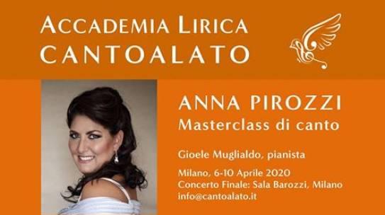 Masterclass Di Canto/ Anna Pirozzi
