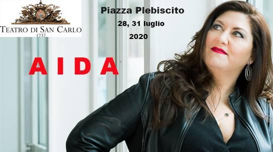ANNA PIROZZI/AIDA/NAPOLI/PIAZZA del PLEBISCITO