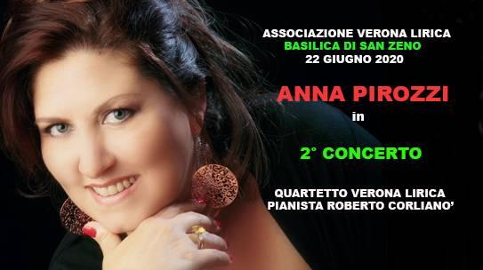 ANNA PIROZZI/CONCERTO/VERONA LIRICA