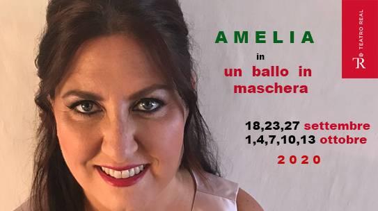 ANNA PIROZZI/AMELIA/TEATRO REAL/MADRID